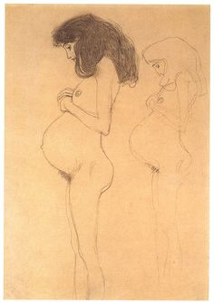 Gustav Klimt-definitely one of my favorite artists....love Woman and Water Snakes II