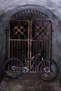 Mpora goes underground mountain biking in the mines beneath the mountain Peca in the Koroso region of Northern Slovenia. Slovenia, Mountain Biking, Abandoned, Journey, Europe, Bike, Dark, Left Out, Bicycle