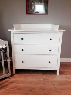 Wickelaufsatz für IKEA Hemnes Kommode NEU! Weiß! von Puck Daddy auf DaWanda.com