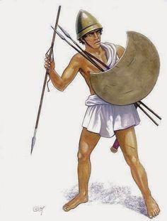 Orden de Batalla. Historia Militar: El Ejército de Alejandro Magno. Peltasta macedonio.