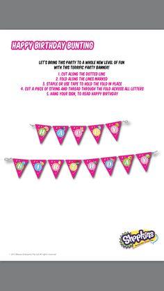 Shopkins Party Pack FREE Printables via Shopkins World website! - Shopkins birthday party