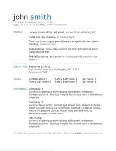 modern resume templates word 89 best yet free resume templates for word