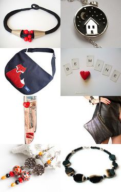 black red by Agnieszka Domagala on Etsy--Pinned with TreasuryPin.com