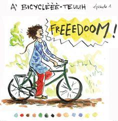 A Bicyclette, Violette Gentilleau, Bouts du monde