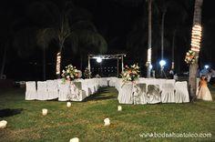 Ambientación para tu ceremonia civil es ideal para tu boda en playa por Bodas Huatulco