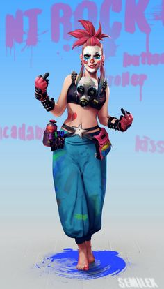 Workflow - Illustrations, concept art, sketching, character design and digital arts. Female Character Design, Character Design References, Character Design Inspiration, Character Concept, Character Art, Concept Art, 3d Art, Arte Cyberpunk, Cyberpunk Character