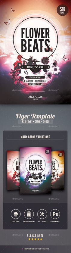 Music Flyer  Music Flyer Flyer Template And Event Flyers