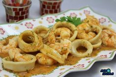 Discover recipes, home ideas, style inspiration and other ideas to try. Spanish Dishes, Spanish Food, Kitchen Recipes, Cooking Recipes, Healthy Recipes, Fish And Seafood, Fish Recipes, Cooking Time, I Foods