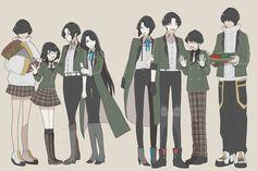 Wise Monkeys, Touken Ranbu, Sword, Otaku, Cool Art, Drawings, Anime, Twitter, Games
