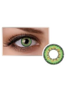871c7a4ca Green Cosmetic Cosplay Party Coloured Eye Contact Lenses