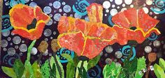 See this image on Sharon Krulak: 12 x 24 Torn Paper Collage, Mixed Media, by Sharon Krulak