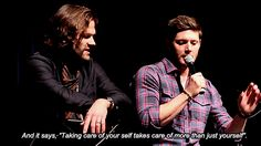 out-in-the-open: I like that. That's a good saying... -                     			  			all things supernatural