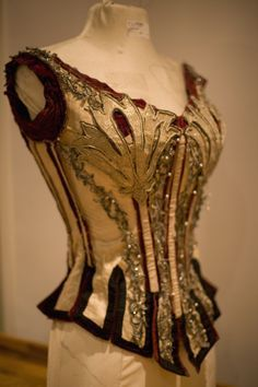 Gorgeous corset customized to look like a Victorian circus costume. Description from pinterest.com. I searched for this on bing.com/images