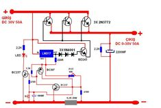 Electronics Mini Projects, Hobby Electronics, Electronic Circuit Projects, Power Supply Design, Emergency Generator, Electrical Circuit Diagram, Power Supply Circuit, Electronic Schematics, Audio Amplifier