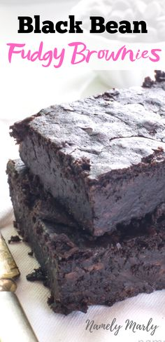 Do you love FUDGY brownies! This Black Bean Brownies Recipe is the ultimate in r The post Do you love FUDGY brownies! This Black Bean Brownies Recipe is the ultimate in r appeared first on Dessert Factory. Vegan Black Bean Brownies Recipe, Vegan Brownie, Brownie Recipes, Vegan Black Bean Recipes, Chewy Brownies, Healthy Brownies, Chocolate Brownies, Vegan Dessert Recipes, Vegan Sweets