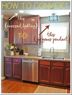 Converting a recessed light on PBJstories