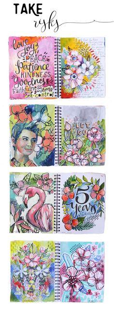 alisaburke: 365 sketchbook project from makewells
