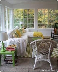 If we ever build a sunroom onto the house. Decor, House Design, Room, House, Sunroom Decorating, Four Seasons Room, New Homes, Home Decor, House Interior