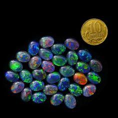 Opal Triplets 8x6 mm