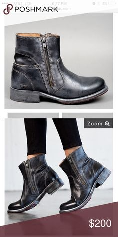 Bed|stu black boots NWT never worn Eiffel women's boot Bed Stu Shoes Ankle Boots & Booties