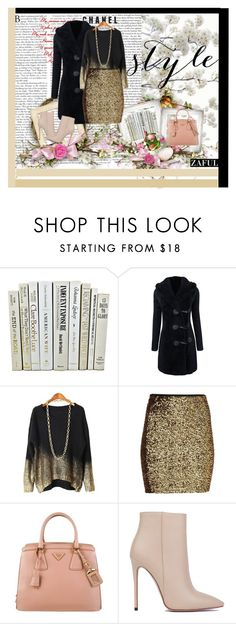 """zaful.com lkid=5695 (88)"" by mell-2405 ❤ liked on Polyvore featuring Prada and Akira Black Label"