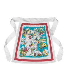 Take a look at this Minnesota Half Apron by Red and White Kitchen Company on #zulily today!
