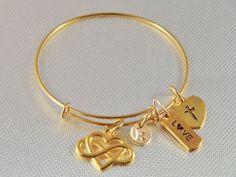 40% OFF SALE Love bracelet Love bangle by LauriesBanglznBeyond