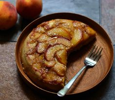 Peach Upside Down Cake | The Earthen Table