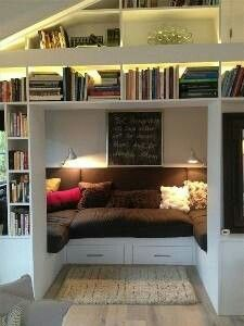 Tell me this doesn't look freaking amazing. And it has room for two people to be cozy and read!