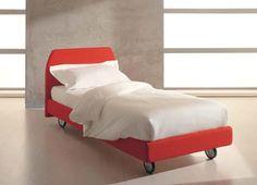 Contemporary bed / child's unisex / on casters - WHY SYSTEM : ARIEL - Quelli della mariani