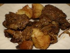 Marinated Oven Baked Steak & Potatoes Recipe: How To Make Steak In The Oven - YouTube
