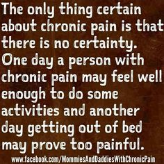 Arthritis Pain Is Bad? Stop The Hurting And Read The Information Below. If you have arthritis, you know how uncomfortable the symptoms are, and how difficult they can make your daily life. Sometimes you may even feel like you c Fibromyalgia Pain, Chronic Migraines, Chronic Illness, Fibromyalgia Disability, Fibromyalgia Quotes, Chronic Pain Quotes, Endometriosis Awareness, Trigeminal Neuralgia, Ankylosing Spondylitis
