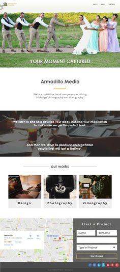 Armadillo - Website Redesign