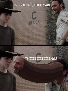 "Jest some ""The Walking Dead"" funnys. - Imgur"