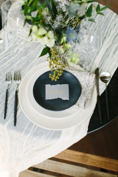 Slate Gray Wedding Inspiration