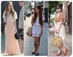 Anandices: #Moda# Estilo Vintage, rendas