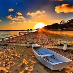 This beautiful Sunrise. Pinned by AKT from Instagram. #nature #scenery #beach #ocean #sand #sunrise #clouds #boat #trees #amazing #world #uk #usa #gcc #saudia #kuwait #bahrain #uae #maldives #bahamas #bali #iran #turkey #italy #cannes #malta #greece #cyprus #marbella #florida