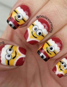 christmas design nail art Archives - Tweenhood