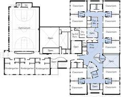 Cosa Architettura ha da dire su Istruzione: Tre New Hampshire Scuole da HMFH Architects, Primo Piano piano di McAuliffe Scuola elementare: Concord, NH / HMFH Architetti