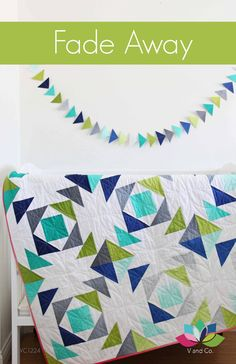 Fade Away  Paper Pattern  V and Co  Vanessa by SewStitchingHappy