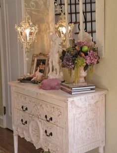 Shabby Chic Furniture Archives - Home Style Corner Shabby Chic Bedrooms, Shabby Chic Cottage, Vintage Shabby Chic, Shabby Chic Homes, Shabby Chic Furniture, Painted Furniture, Romantic Cottage, French Cottage, Estilo Shabby Chic