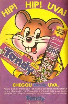 Tandy Uva #nostalgia #infância