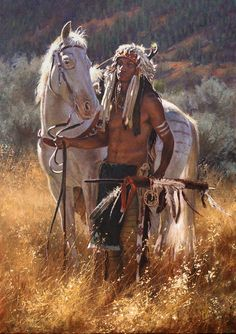 Don Oelze - Western & Native American Art - Native American Warrior, Native American Beauty, American Indian Art, Native American History, American Indians, American Symbols, American Women, Native American Paintings, Native American Pictures