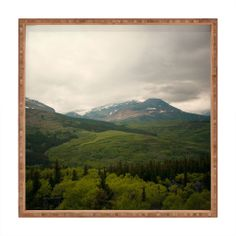 Catherine McDonald Wild Montana Square Tray | DENY Designs Home Accessories #wanderlust #travel #adventure #country #wildwest #unisex #green #earthday