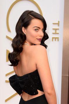 Ondas al agua de Margot Robbie #Oscar #Oscar2014 #hairstylesOscar