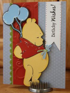 Ink and Paper Creations: Cricut Pooh Friends