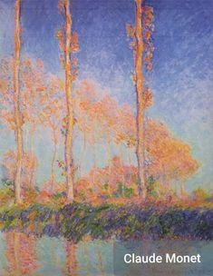 Poplars, Philadelphia by Claude Monet Art Print by Palazzo Art Gallery - X-Small Claude Monet, Manet, Camille Pissarro, Impressionist Paintings, Landscape Paintings, Landscapes, Renoir, Popular Paintings, William Turner