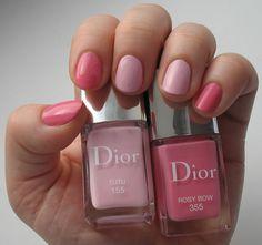 Весенние лаки Dior: Rosy Bow, Gris Trianon, Tutu | Мангуста.ру