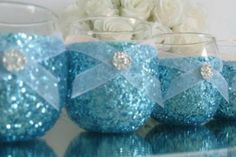 Weddings Wedding Candles Candle Holder Votives by KPGDesigns Wedding Table, Wedding Reception, Our Wedding, Dream Wedding, Destination Wedding, Wedding Rings, Wedding Crafts, Wedding Decorations, Birthday Decorations