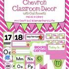 This 136 page Pink and Green Owls and Chevron Classroom Decor Pack will get you started on decking out your classroom in style. This decor pack i...